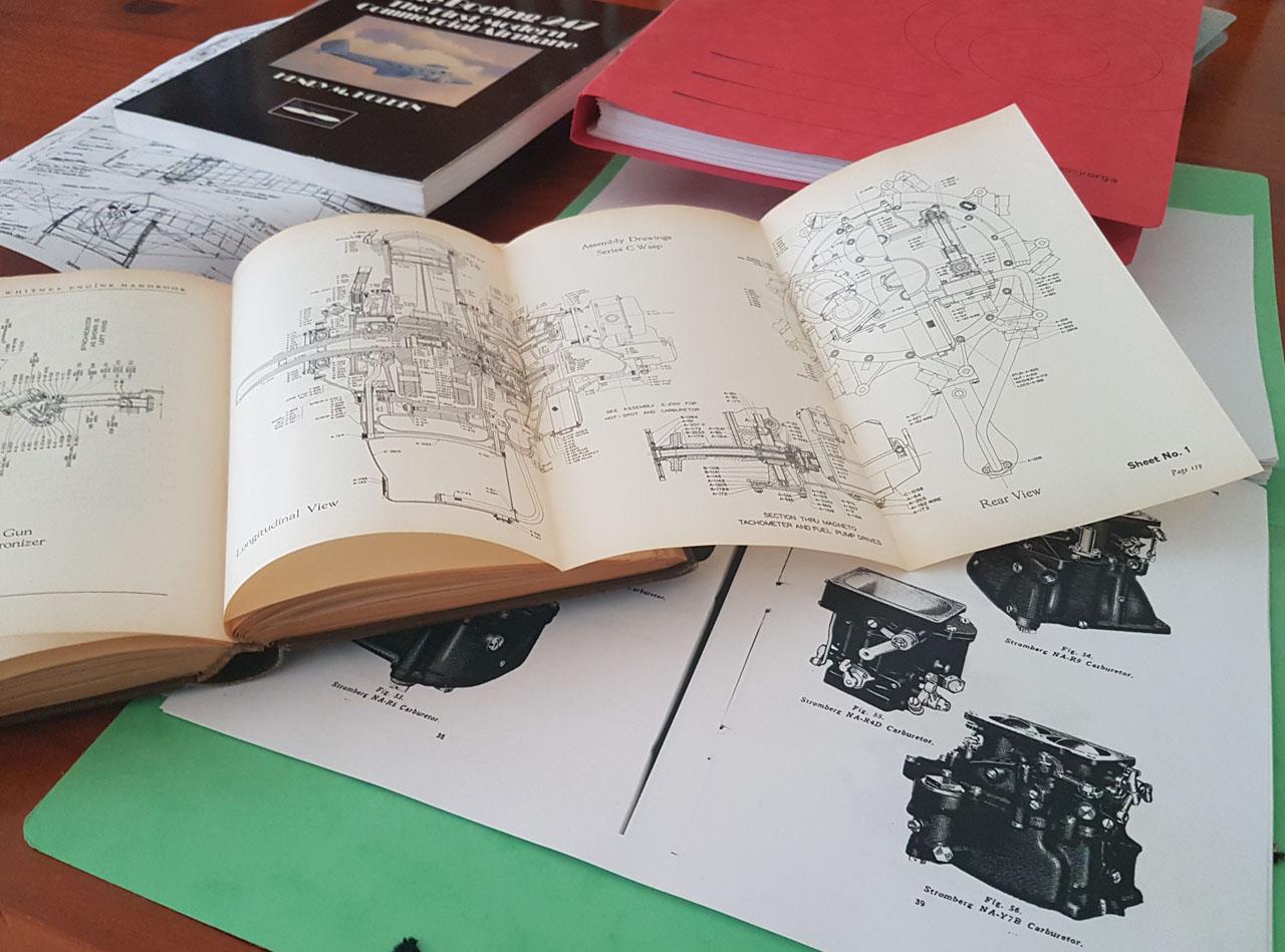 Various manuals
