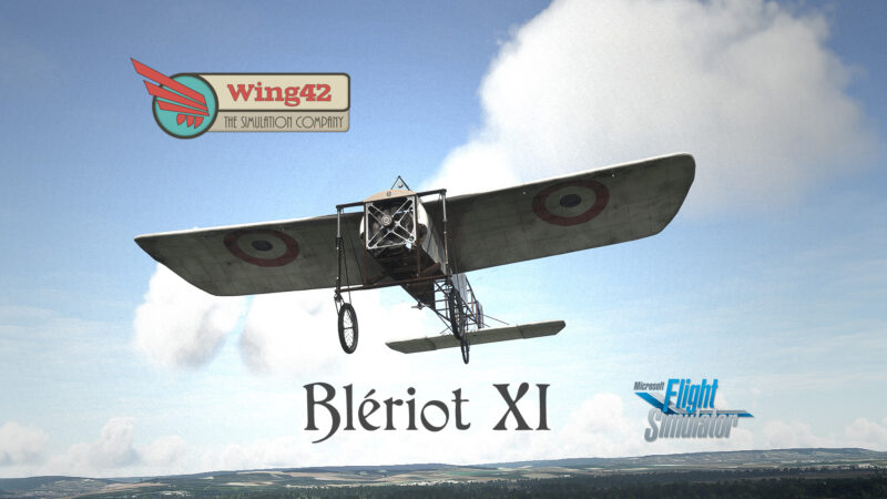 Wing42 Blériot XI cover