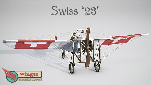 Wing42 Blériot XI Bemalung